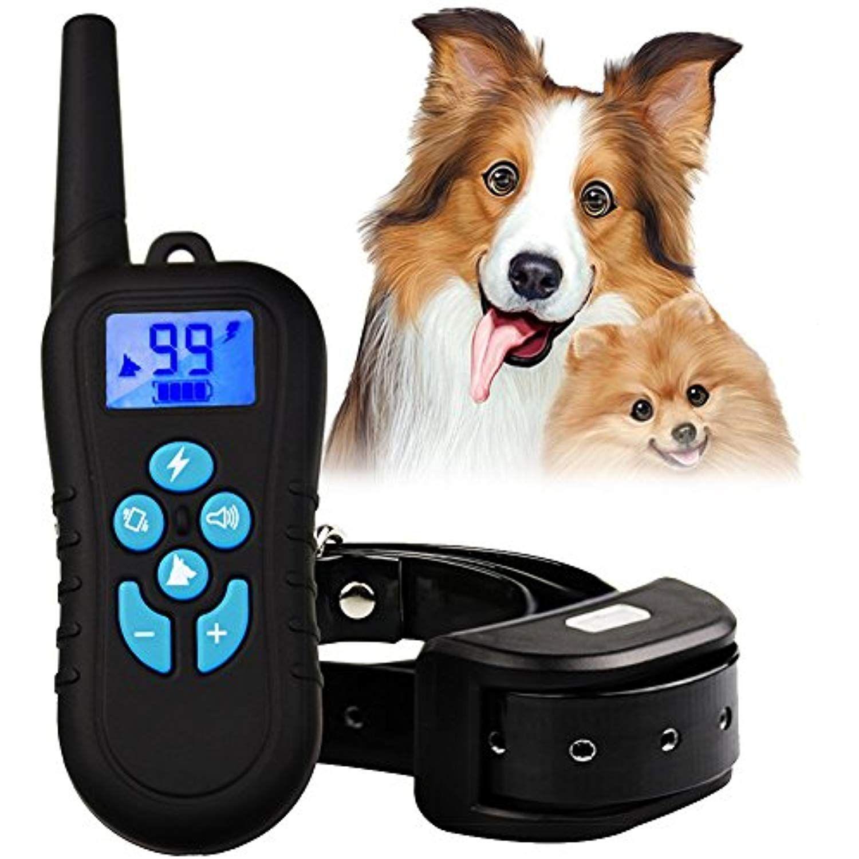 Multifun Dog Training Collar Rechargeable Shock Collar Up To 9