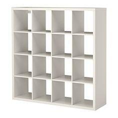 "KALLAX Shelf unit, white - 57 7/8x57 7/8 "" - IKEA"
