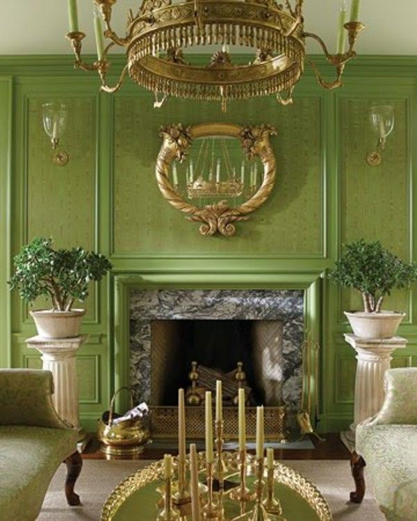 Acting Aristocratic Living Room Wall Color Olive Green Http