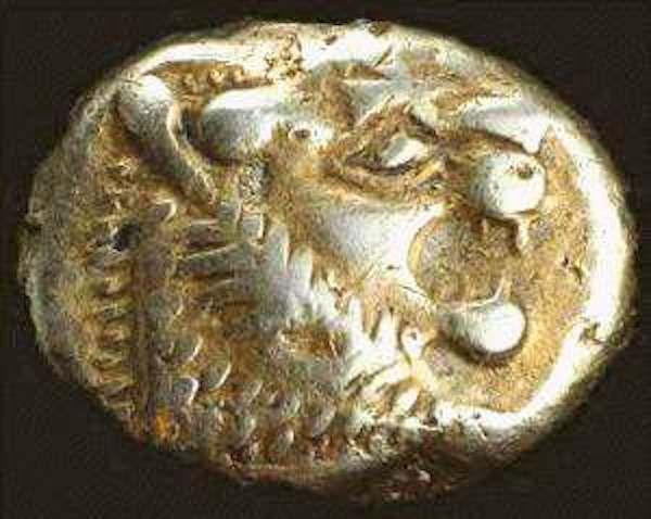 A Moeda Mais Antiga 2 700 Anos Encontrada Na Turquia Essa Moeda