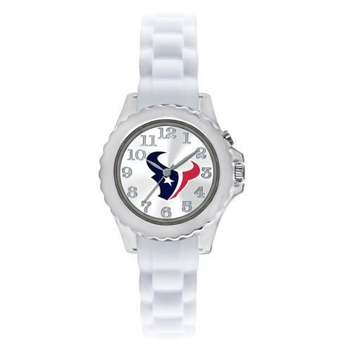 Kids Houston Texans Watch White Youth Wristwatch