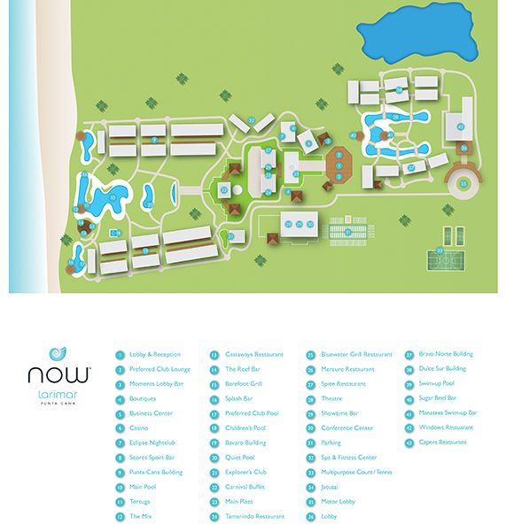 Now Larimar Resort Map Unlimited Vacation Club Travel