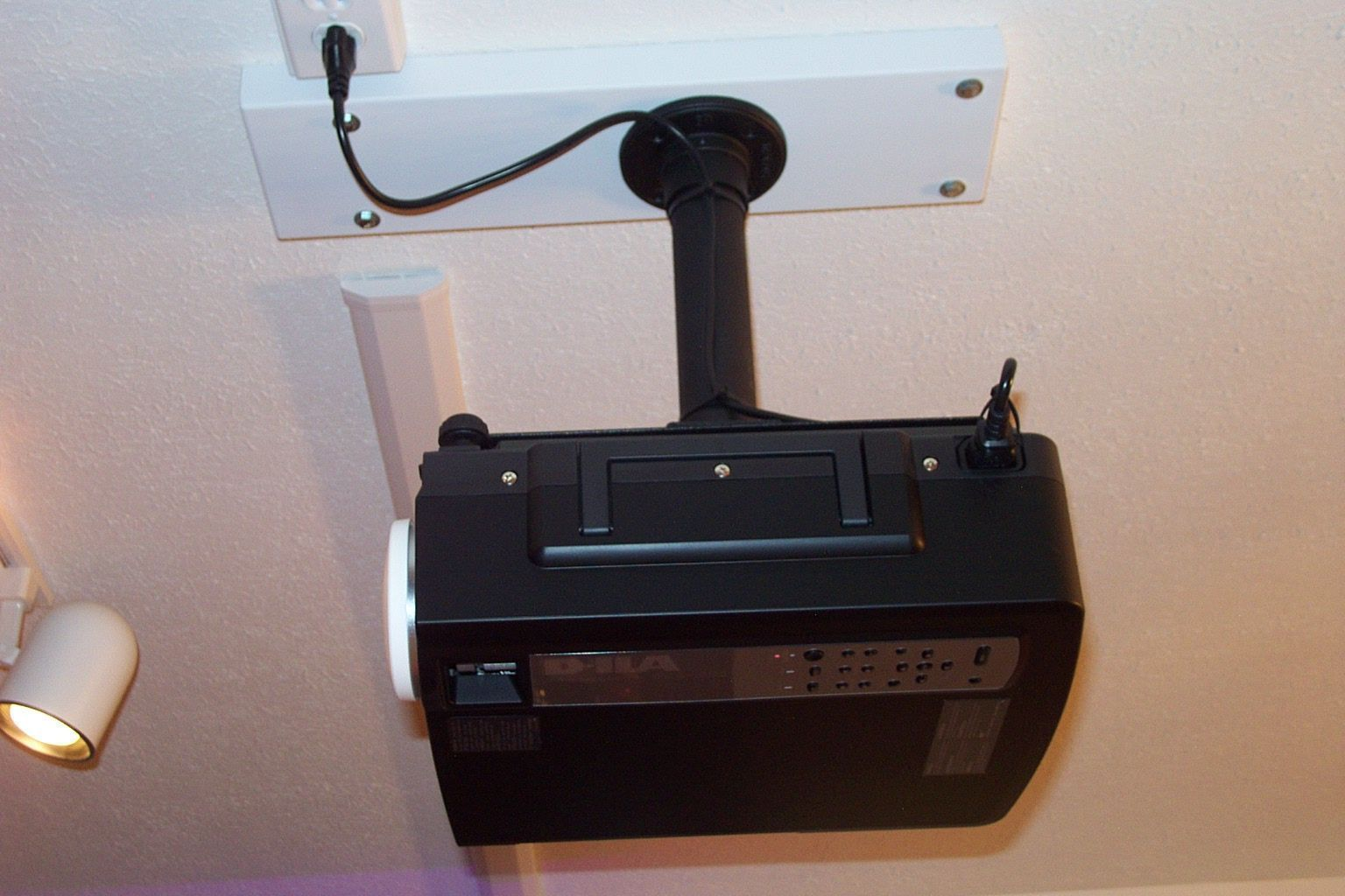 Snap Toggles To Mount Ceiling Projector Avs Forum Home Theater What Does Your Wiring Cabinet Look Like Discussions And Reviews