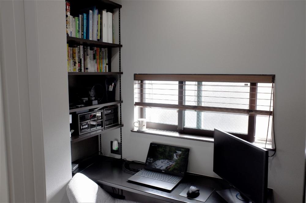 1畳 2畳 3畳の狭い書斎 デスクl型レイアウトがおすすめの理由 インテリアアイデア モダンダイニングルーム 書斎 インテリア