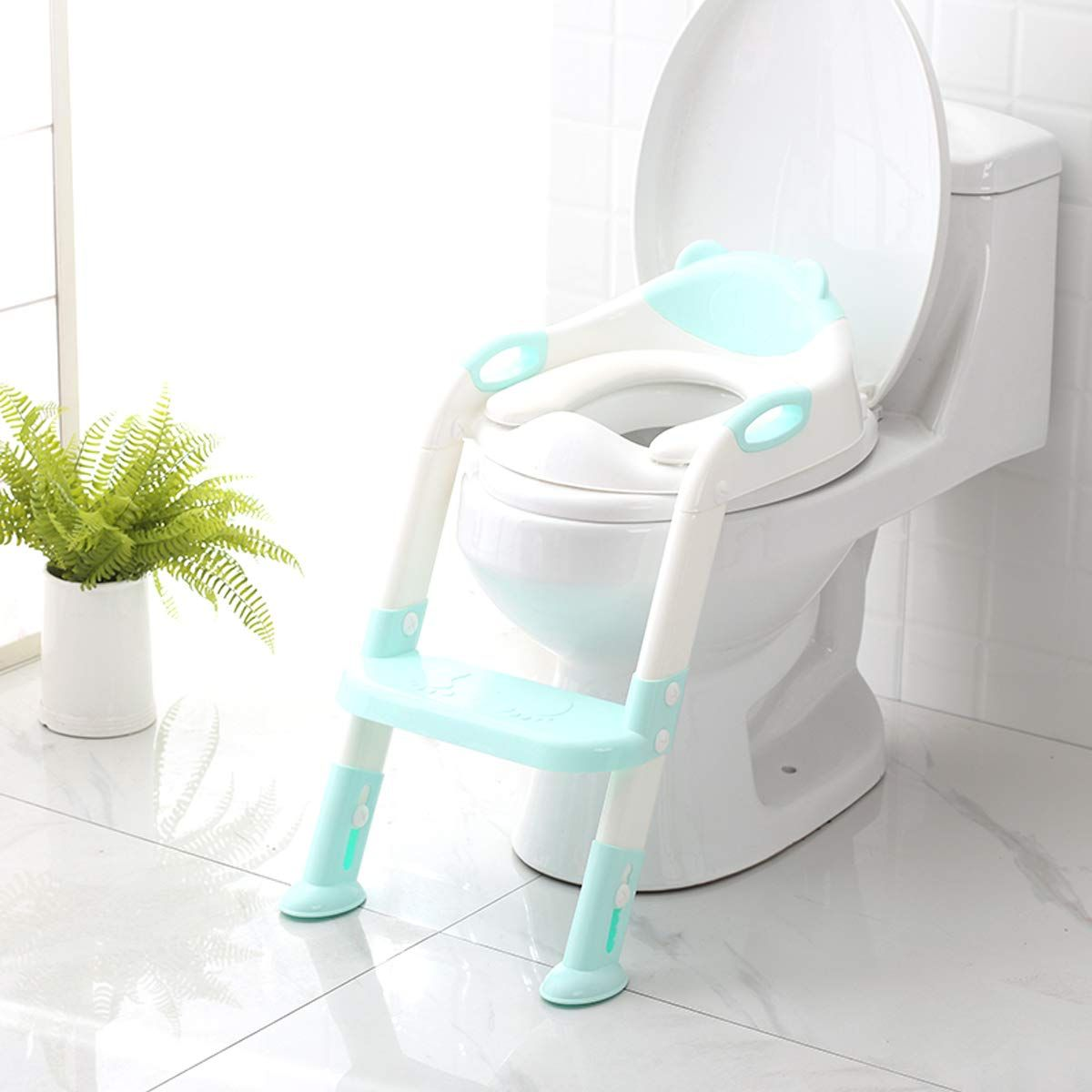 Potty Training Seat With Step Stool Ladder Skyroku Potty Training