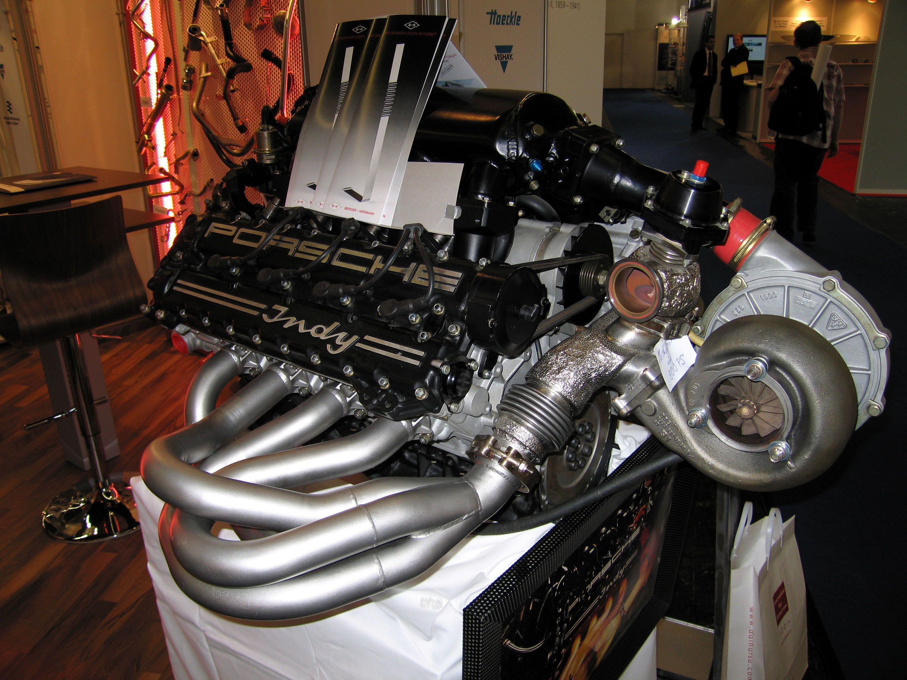 двигатель porsche v12