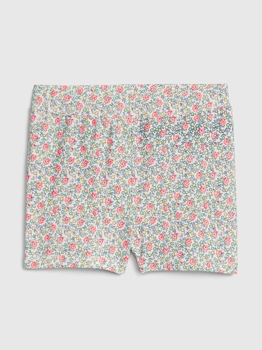e596fb0c8db Gap Babies' Toddler Cartwheel Shorts In Stretch Jersey Ivory Frost ...