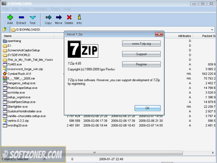 7-Zip 17 01 Beta 64-bit Free Download | Software Downloads | 7 zip