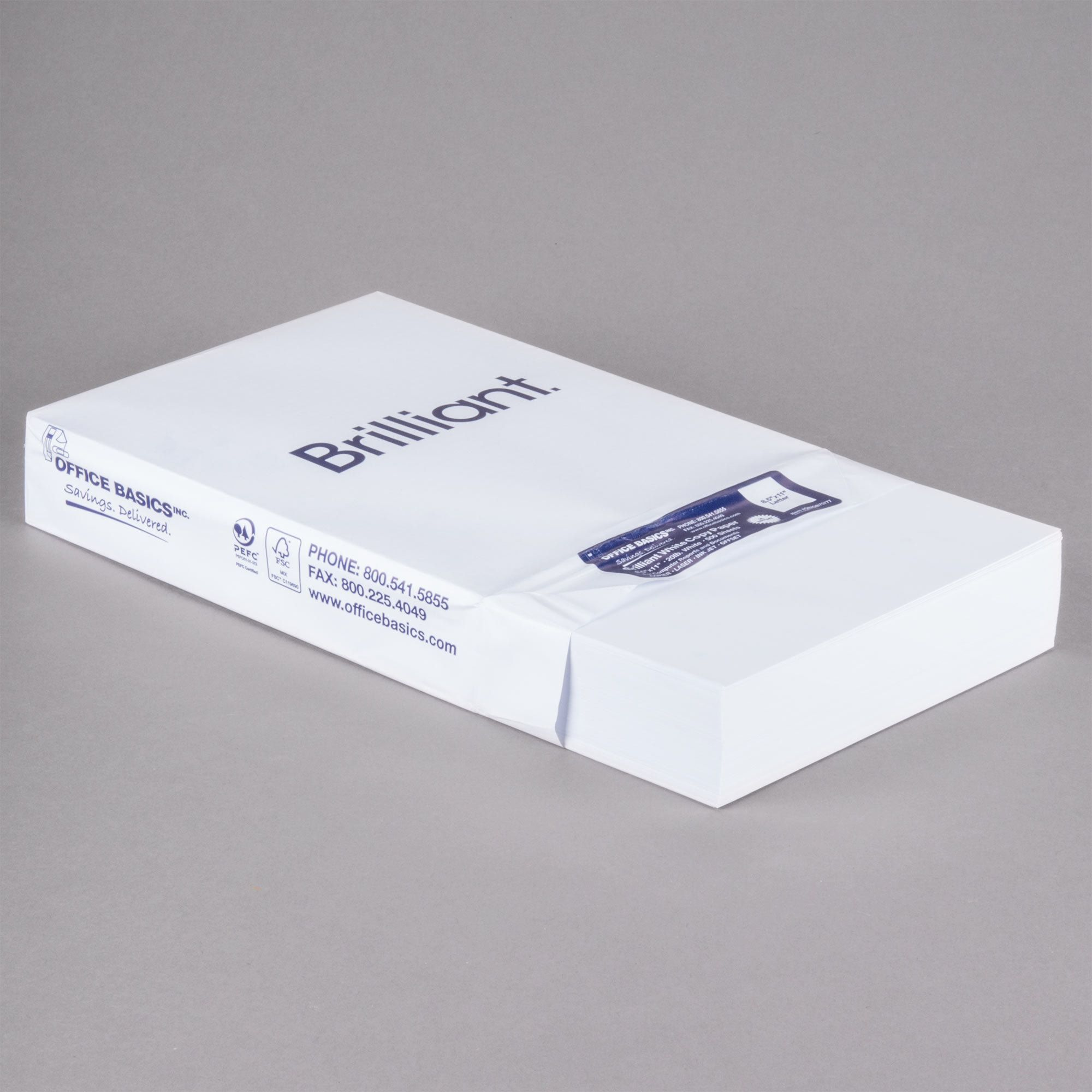 8 1 2 X 11 Bright White Ream Of 20 Copy Paper