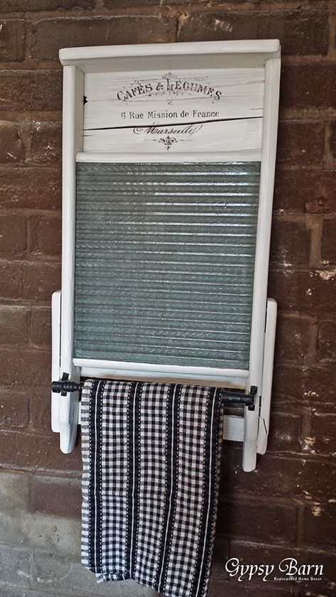 Repurposed Washboard Ideas Repurposed Laundry And