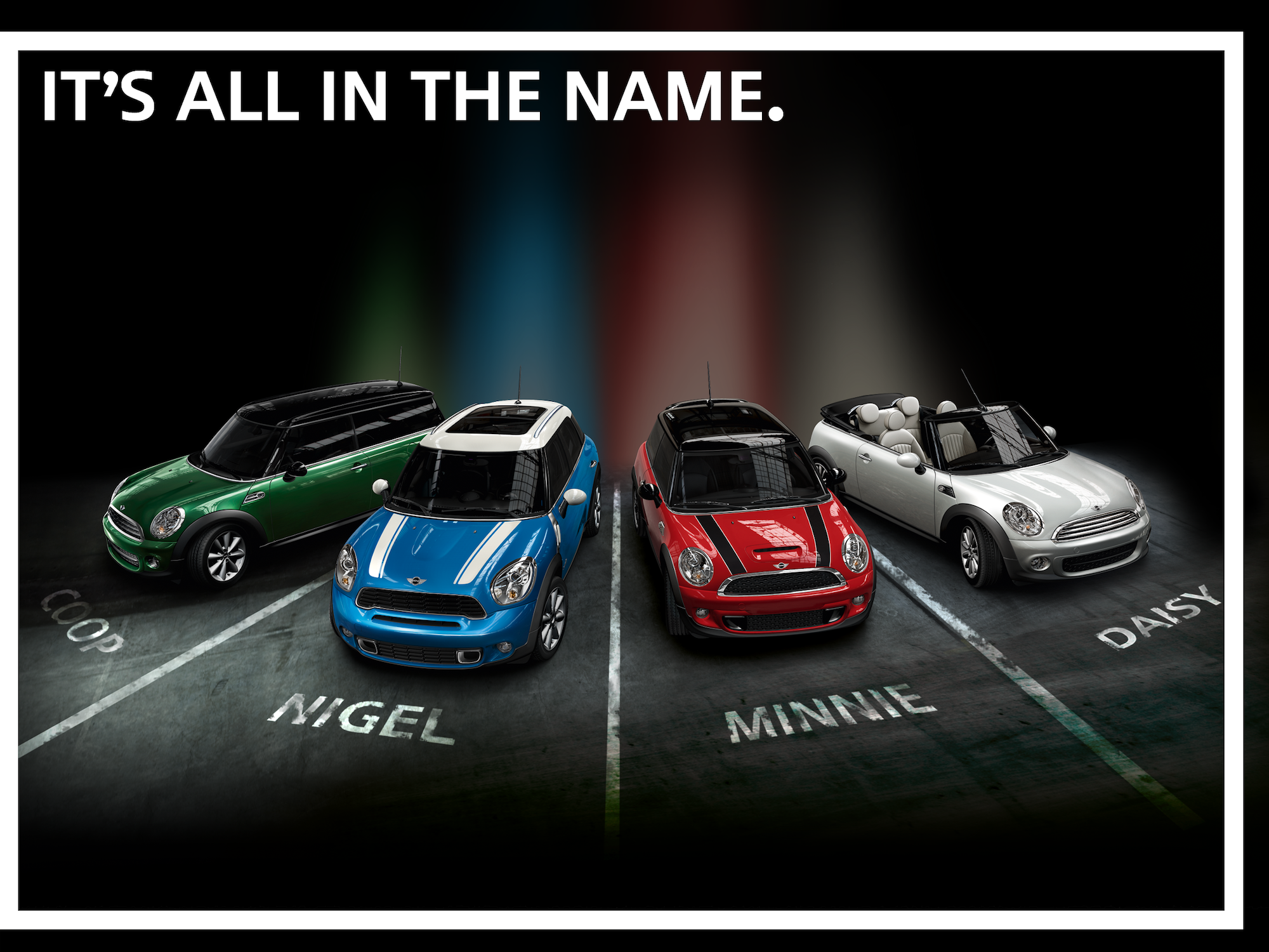 Hy Name Your Car Day Minicooper Names