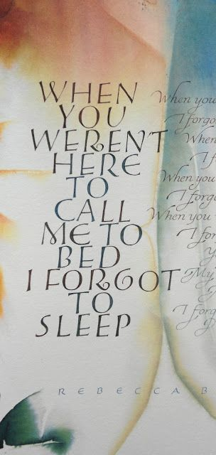 Gemma Black Calligrapher: From the drawing board ...