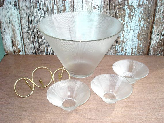 Vintage Federal Glass Norse Thin Ribbed by LkWhatTheCatDraggedN