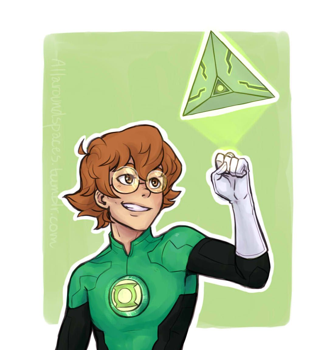Pidge as Green Lantern ! Justice League crossover (I used a another brush this time, so it might look a little different from the others so far) Allura - Shiro - Hunk