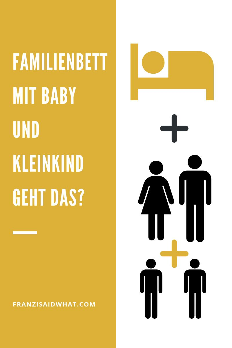 Ein Familienbett Mit Baby Und Kleinkind Familien Bett