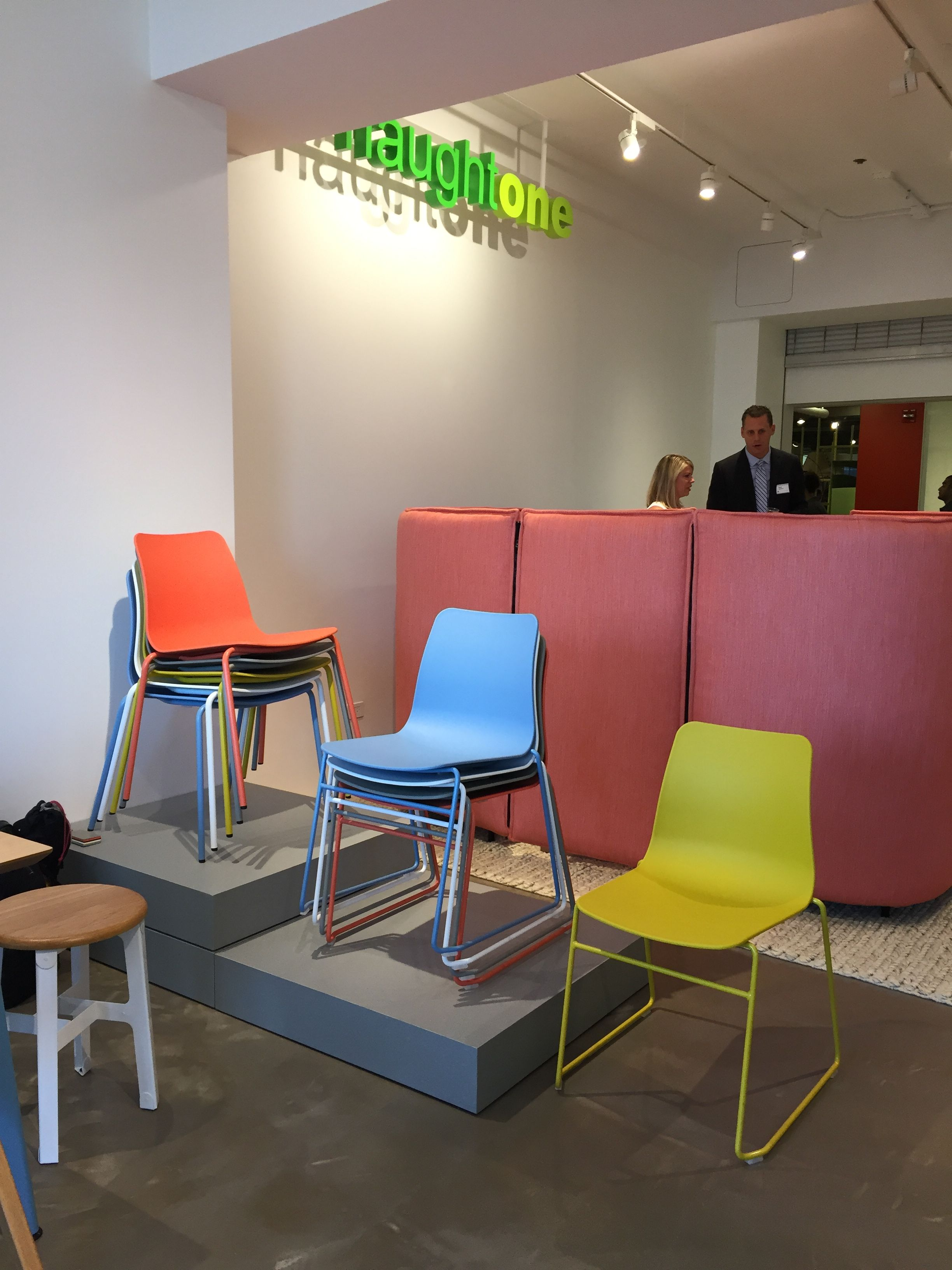 Magnificent Naughtone Polly Chair Events Neocon 2016 Office Interior Design Ideas Gresisoteloinfo