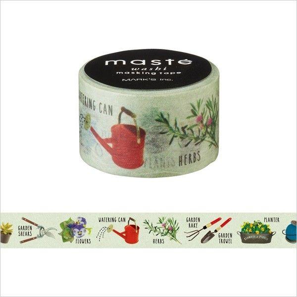 Japanese Washi Tape / Masking tape Multi Amazing life Gardening /masté