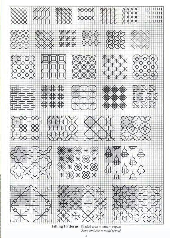 Modern blackwork designs | Bonito | Pinterest | Bordado, Bordado ...