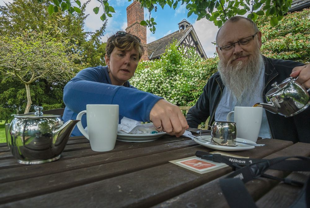 """Tony Jones & Penny Vincent - """"work, rest and play"""" a series of joint self-portraits"""