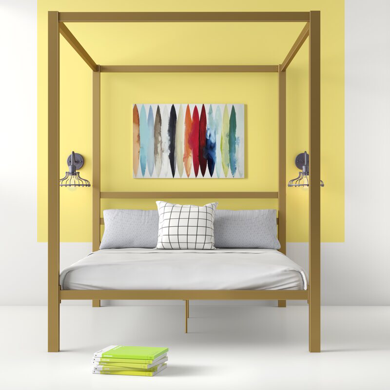 Dubay Canopy Bed Canopy bed frame, Queen canopy bed