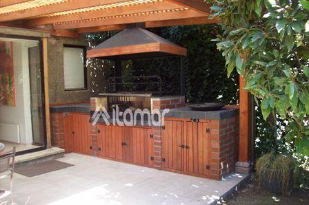 Quinchos terraza quincho y piscina pinterest for Reposeras para terrazas