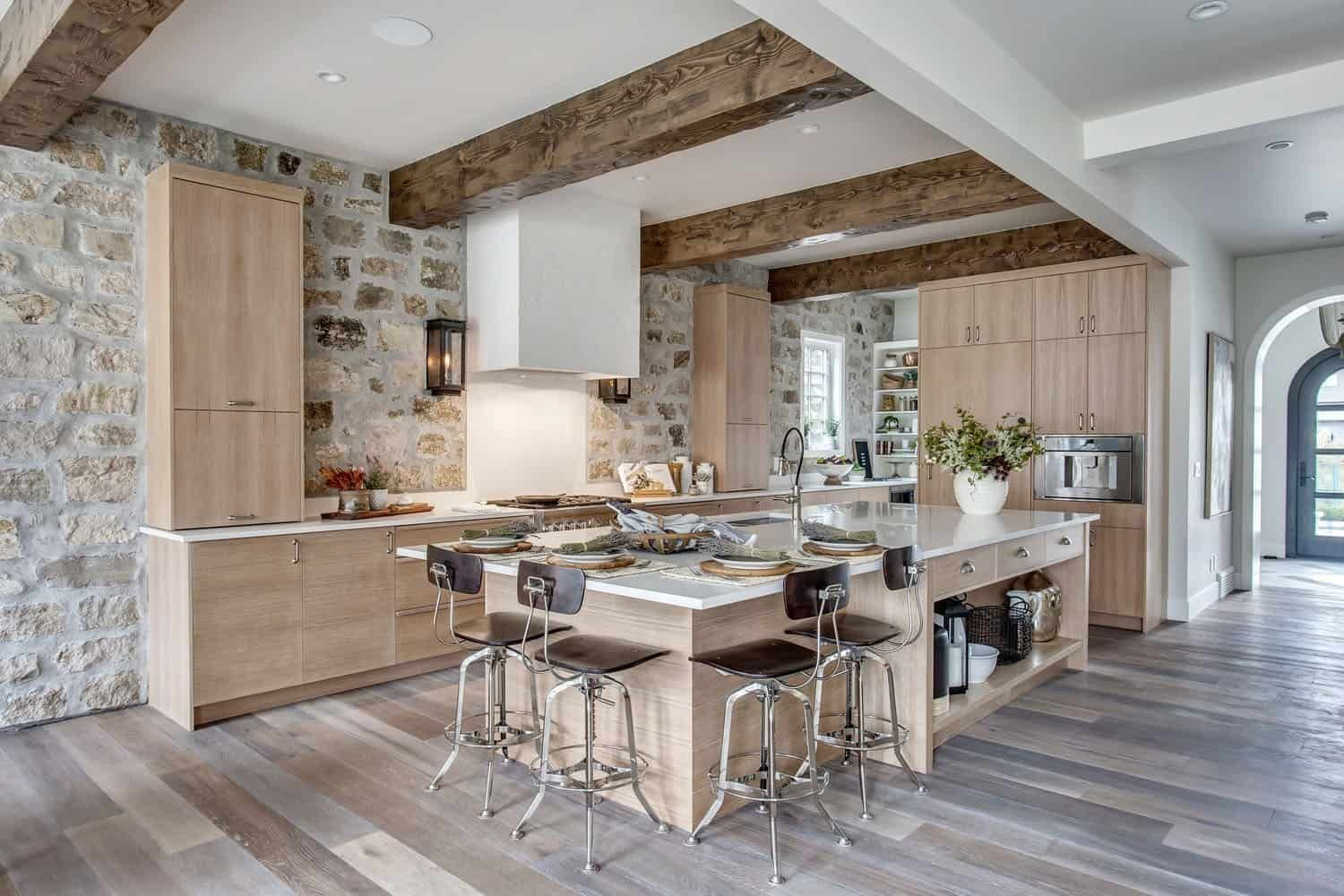 modern french country home offers breathtaking interiors in calgary modern french country on kitchen interior french country id=37123