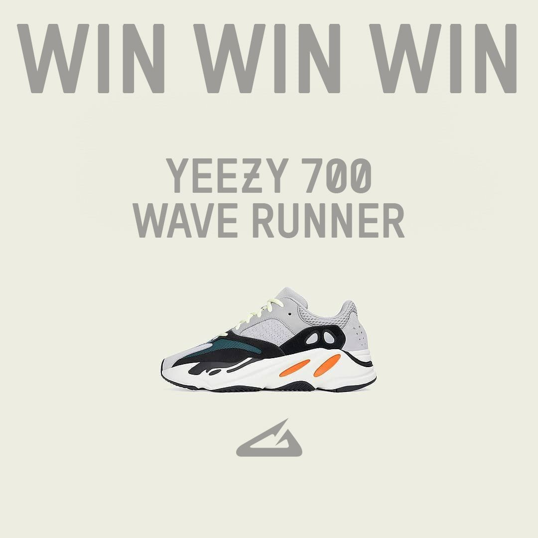 32469f372170b Last chance for the Yeezy 700 Wave Runner! Our raffle ends tomorrow. 💻  Check