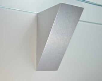 Nice Modern Metal Corbels Glass Shelf Support