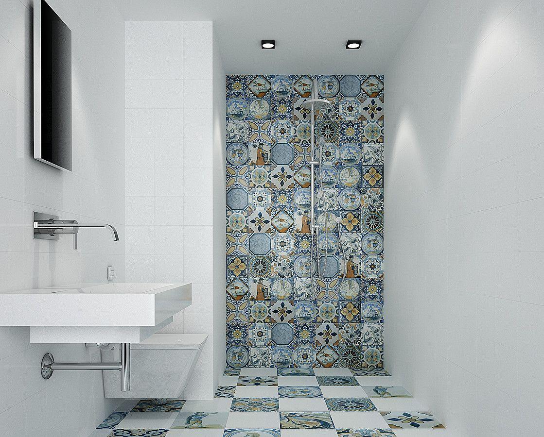 Antique Monopole 9 Kitchen Bathroom Patchwork Style Style Ceramic Tile Floor Wall Matte Surface Glossy Su Bathroom Interior Tile Bathroom Kitchen Tiles