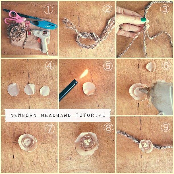 Photo by corinanielsen • instagram newborn headband tutorial