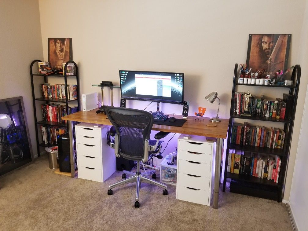 24++ Ikea alex computer desk with drawers ideas