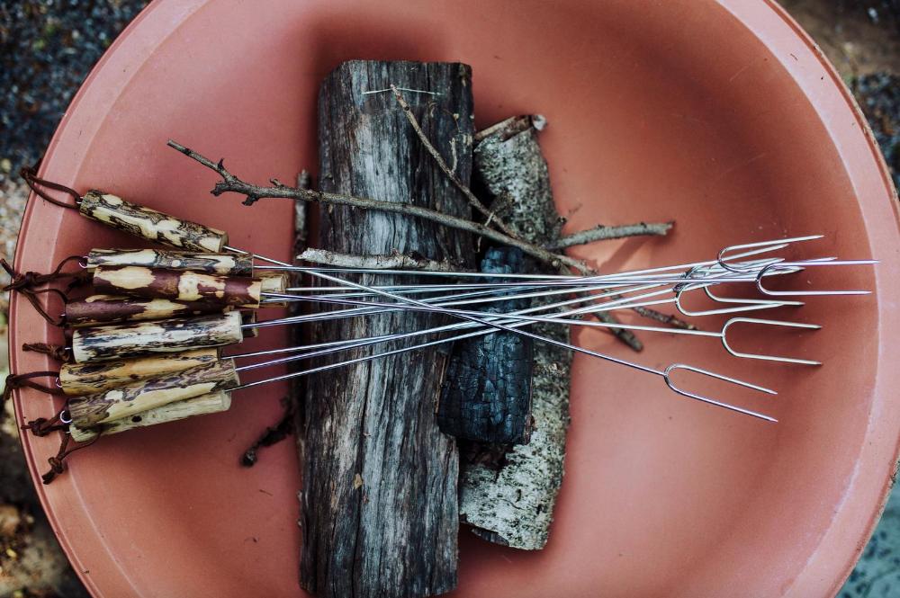 Marshmallow stick, Roasting stick, Personalized, Roasting fork, Campfire roasting stick, Campfire roasting fork #marshmallowsticks