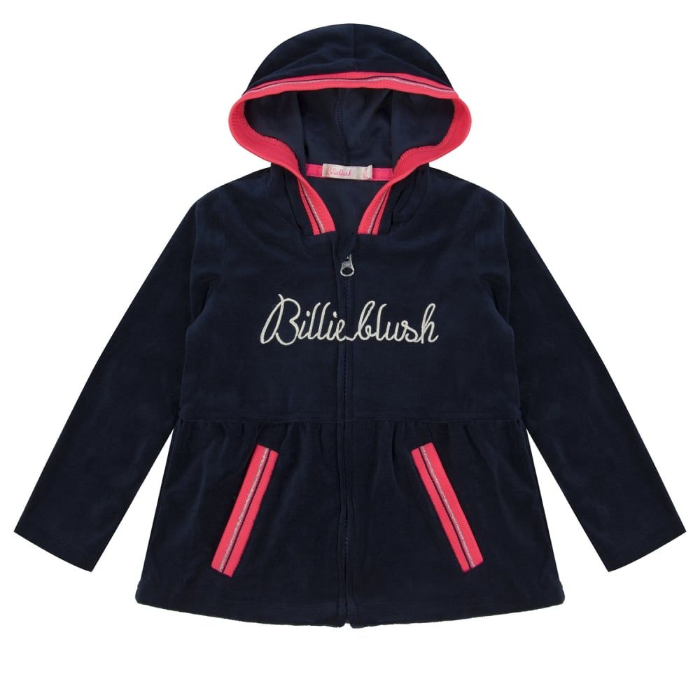 half off new lifestyle low cost Billieblush Baby Girls Navy Tracksuit Set. Available at www ...
