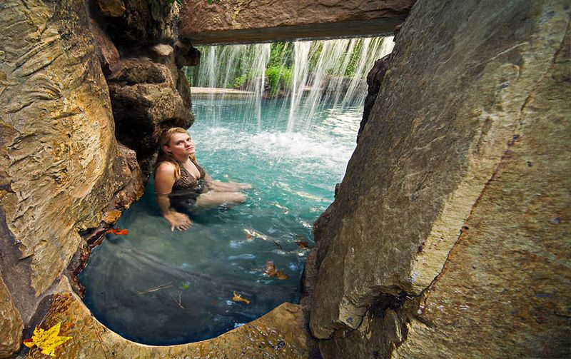 John Guild   Photography | Water Caves  Grotto Custom Pool Caves |  Extravagant Home | Pinterest | Cave