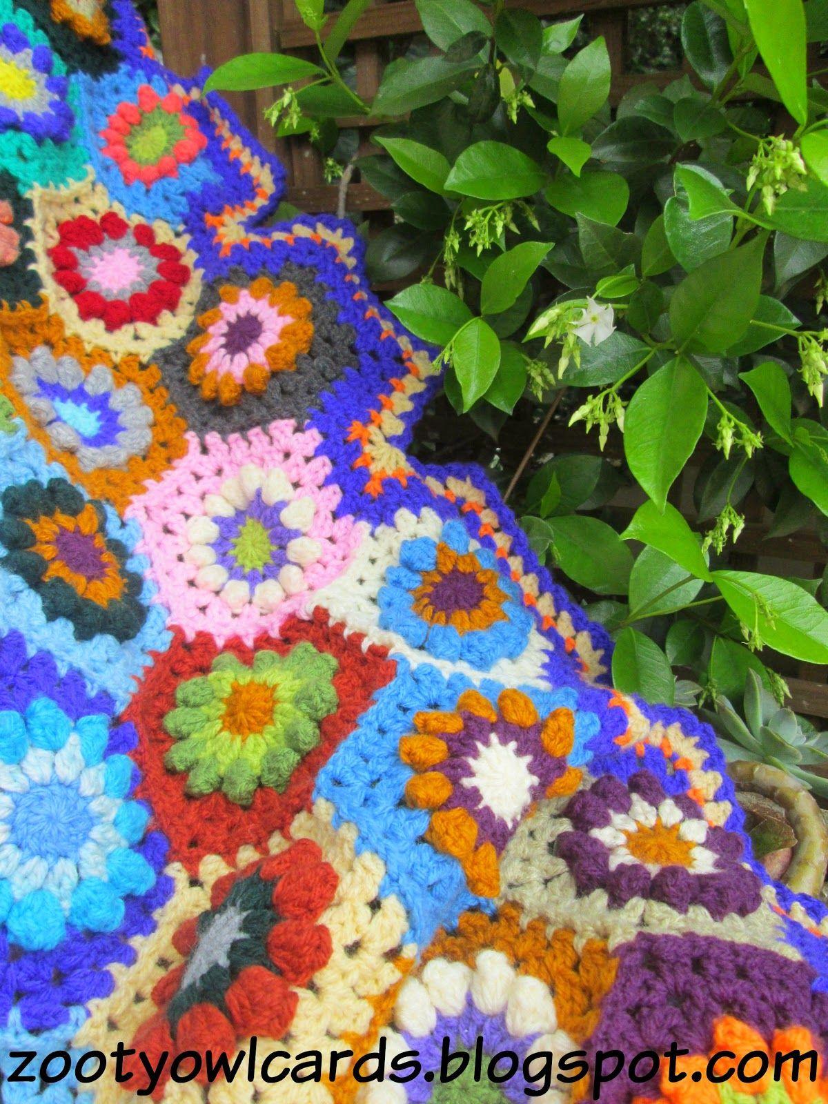 Zooty Owl's Crafty Blog: Kaleidoscope Blanket