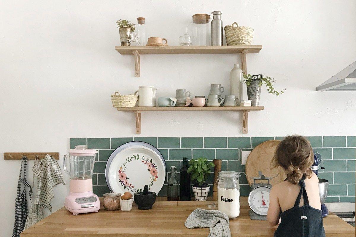 La Renovation D Une Maison Ancienne Par Pauline Instagram Levelorose En 2020 Meuble De Cuisine Ikea Maison Ancienne Maison
