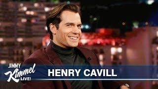 """Henry talks about being super ripped, Mission Impossible, Superman, why he's a fan of the Kansas City Chiefs, playing rugby growing up, life with four brothers, his new Netflix show """"The Witcher,"""" doing his own stunts, and the parallels between his new show and...    #jimmy #jimmykimmel #jimmykimmellive #latenight #talkshow #funny #comedic #comedy #clip #comedian #meantweets #HenryCavil #TomCruise #MissionImpossible #KansasCityChiefs #Football #Rugby #Netflix #TheWitcher #Superman"""