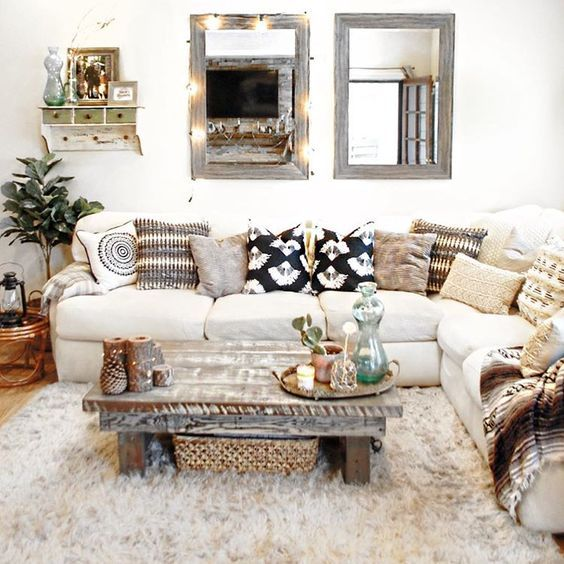 boho chic decoracin interior Pinterest Boho and House