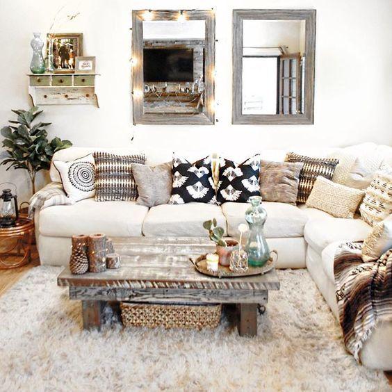 Best Boho Chic Farm House Living Room Boho Living Room 400 x 300