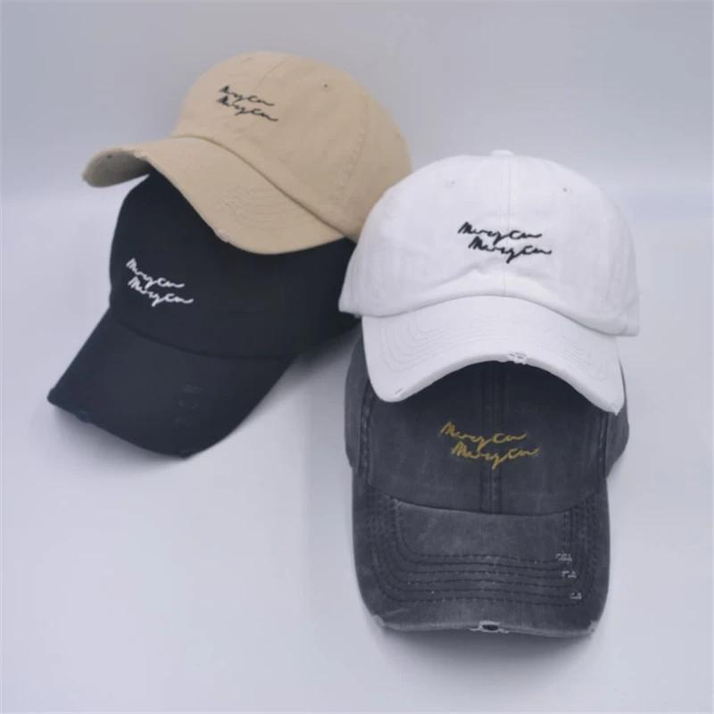 Retro Broken Hole Sunshade Casual Baseball Hat Beaprint Baseball Hats Hats Casual