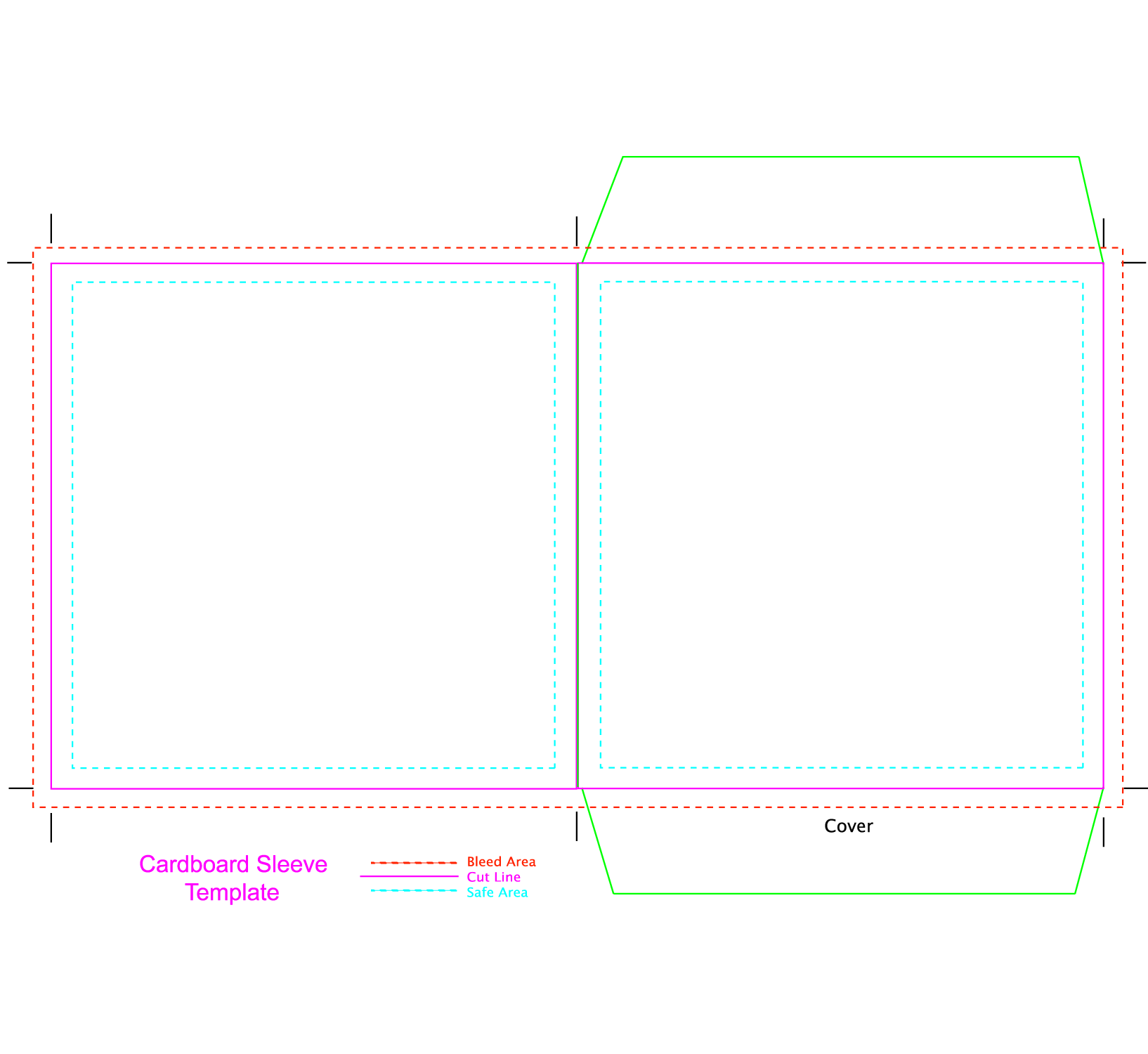 template for cd cover card board sleeve template misc stuff