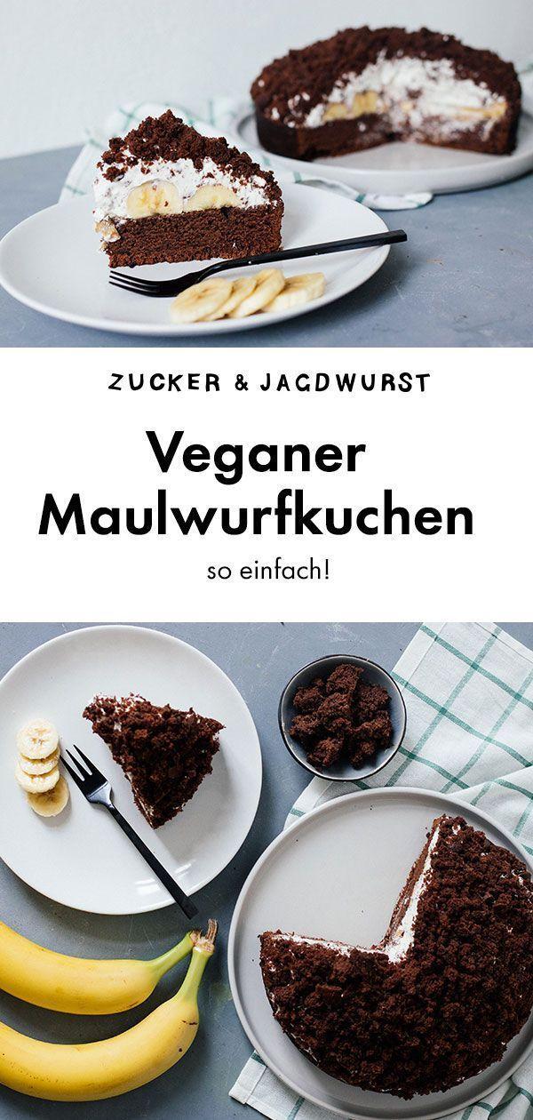 Veganer Maulwurfkuchen - Zucker&Jagdwurst
