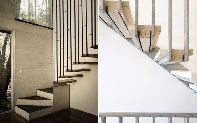 Ideas para decorar con barandillas y pasamanos stairs - Barandillas para escaleras interiores modernas ...