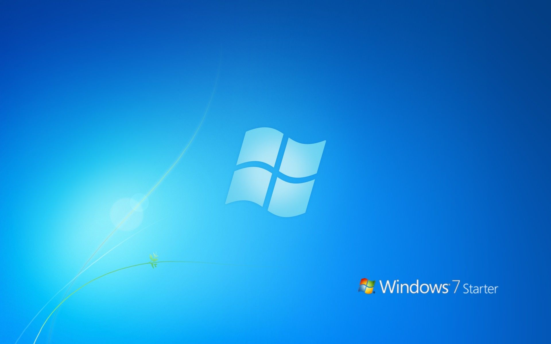Windows 7 starter set wallpaper