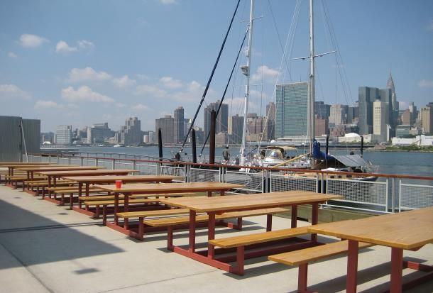 Anabale Basin Sailing Bar And Grill Waterfront Restaurant Waterfront Long Island City