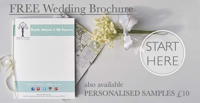 Just got engaged? Feeling creative? Sign up for our Free wedding - sample wedding brochure