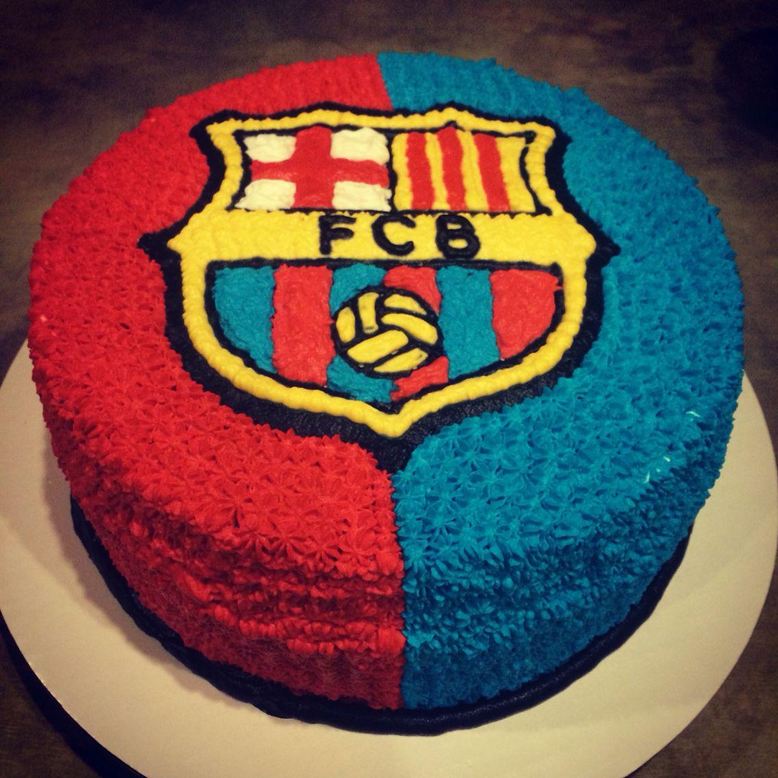 Barcelona Cake Barcelona Cake Soccer Birthday Cakes Football Birthday Cake
