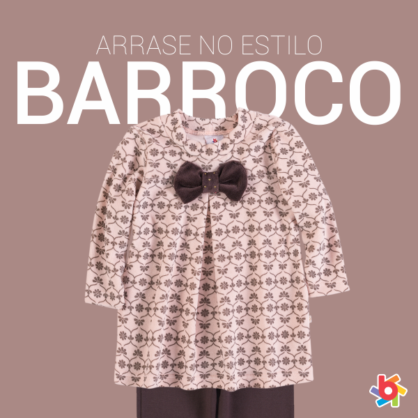 O estilo barroco chic entra com tudo no inverno das meninas! #fashionkids #inverno2014brandili