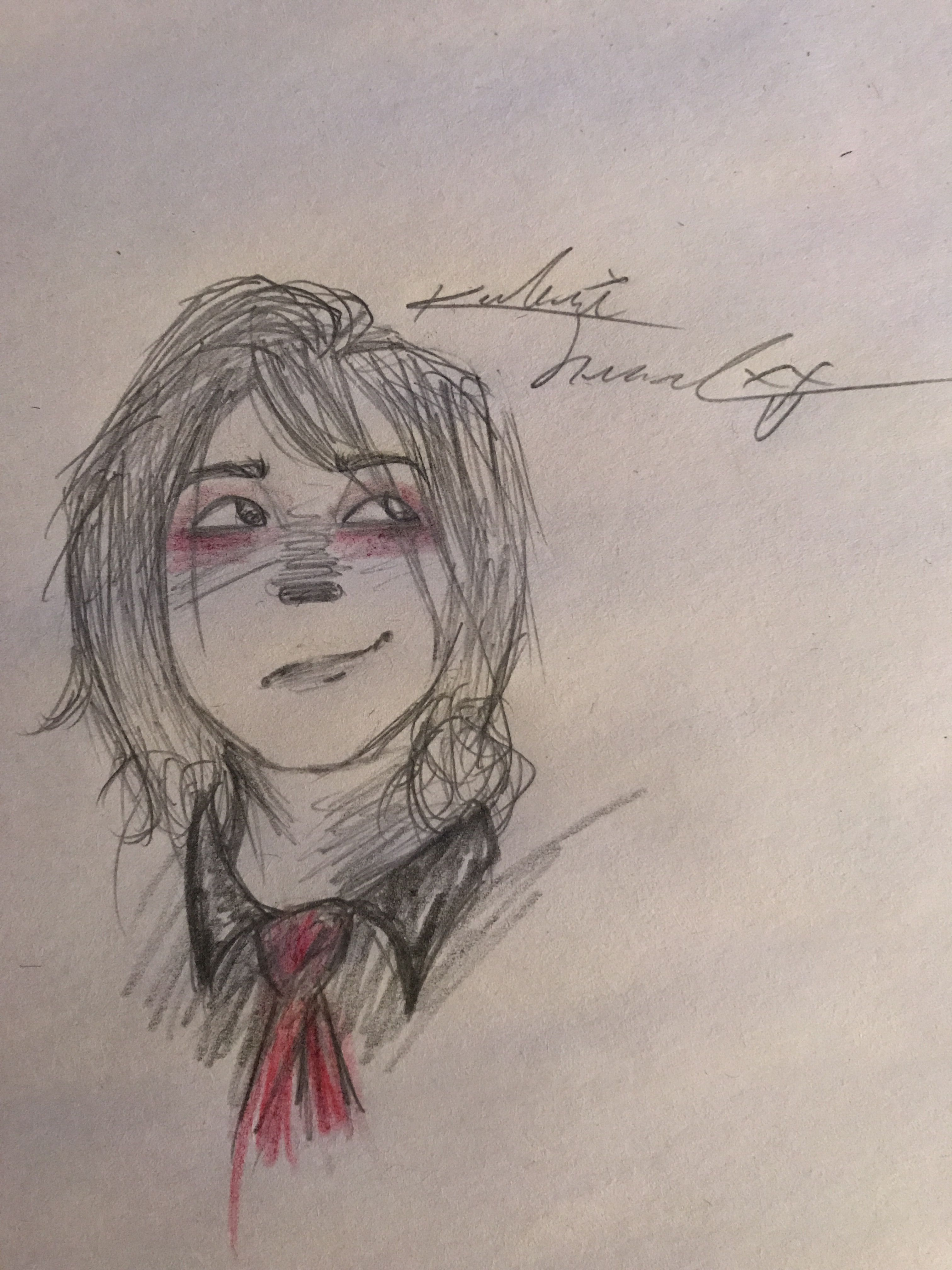 My shitty Gerard Way art<<< lies this is amazing<<<seriously this is so beautiful