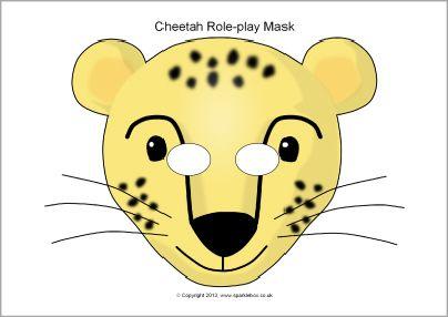 this website has tons of free printable masks cheetah role play masks sb2139 sparklebox. Black Bedroom Furniture Sets. Home Design Ideas